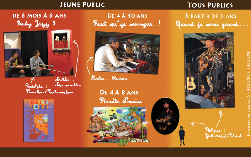 Plaquette PHILRO JAZZ PROJECT